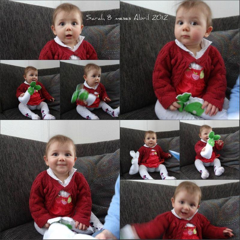 Sarah 8 meses